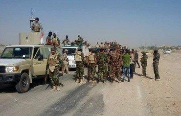 قوات العشائر والشرطة المحلية تستلم أمن الفلوجة