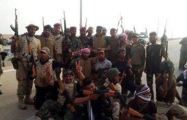 سوپای عێراق و خێڵەکان هێرش دەکەنەسەر دواهەمین قەڵاکانی داعش لە ئەنبار
