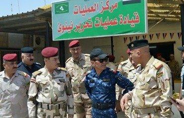 هروب مقاتلي داعش من الموصل مع اقتراب القوات العراقية منها