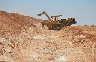 Les tranchées de Falloujah renforceront la ville contre l'EIIL