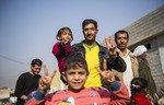 القوات العراقية تحرر مدينة رئيسية بالجبهة الجنوبية من الموصل