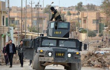Hêzên Iraqî profesyoneliyê di şerê Mûsilê de nîşan didin