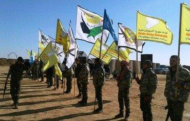 Şêniyên bakurê Sûriyê tevlî şerê derxistina DAIŞ dibin