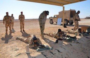 Iraqi army trains Ninawa locals to hold ground