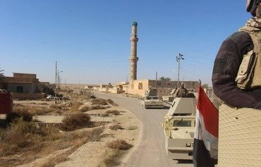 نیروهای عراقی کنترل حوضه فرات علیا را به دست گرفتند