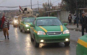 شرطة نينوى تعود إلى شوارع الموصل