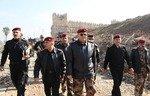 العراقيون يستعدون لإعادة بناء مسجد النبي يونس