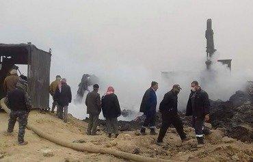 Iraq ji vemirandina agirên zeviyên neftê yên Geyara nêz dibe
