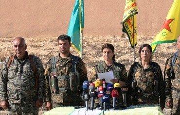 امرأة في قوات سوريا الديموقراطية تقود معركة الرقة