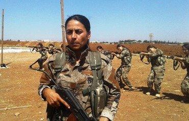 نساء كرديات يقاومن داعش على جبهات القتال في سوريا