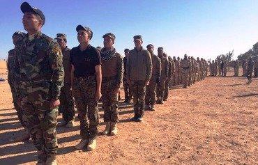 مقاتلو داعش الفارين يتوجهون نحو أعالي الفرات