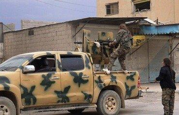 التحالف العربي الكردي يقترب من النصر في الطبقة