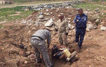 العراق يعيد عناصر شرطة نينوى إلى الخدمة