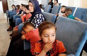 البشمركة تحرر 36 إيزيدياً محتجزاً لدى داعش