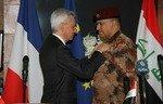 La France rend hommage au chef de l'antiterrorisme irakien