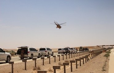 Iraqi forces reinforce security at Trebil crossing