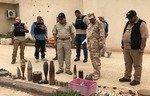 گروه های عراقی مشغول خنثی کردن مناطق موصل هستند که با تراکم مین گذاری شده است