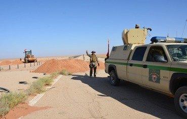 القوات العراقية تؤمن الشريط الحدودي مع سوريا والأردن