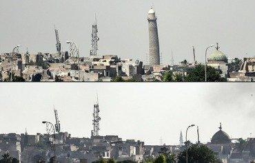 الجيش العراقي يعلن سيطرته على جامع تاريخي في الموصل