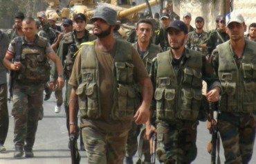 درگیری بین نیروهای شبه نظامی در حلب و حمله به نیروهای سوریه