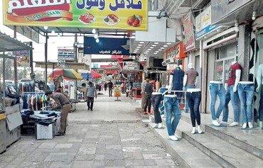 بازارهای شرق موصل مملو از خریداران شده است