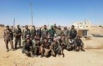 Former regime defector joins forces with IRGC in Syria desert