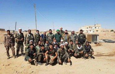 Un ancien membre du régime rejoint les forces du CGRI dans le désert syrien
