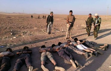 Kurdish forces kill, capture dozens of ISIS elements north of Tal Afar