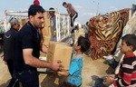 عراق در حدیثه اردوگاه ویژه آوارگان را برپا می کند