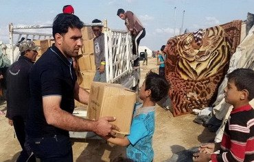 Iraq kampekê ji awareyan re li Hedîsayê ava dike