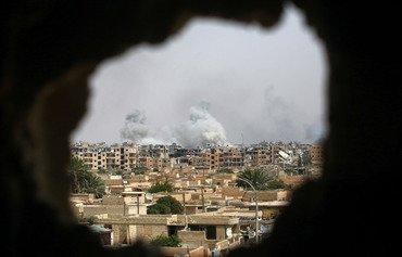 هێزەکانی سوریای دیموکرات دوو لەسهر سێی رەققەیان بەدەستەوەیە