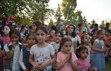 با آزاد شدن موصل از داعش بچه ها دوباره تفریح دارند