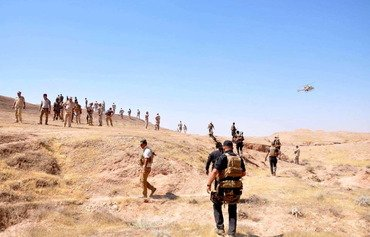 ISIS loses more ground in Iraq's Hamreen hills