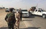 القوات العراقية تشن هجوماً لاستعادة منطقة بالقرب من الحويجة