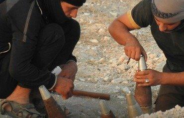 اشتباكات بين داعش وهيئة تحرير الشام في ريف حماة