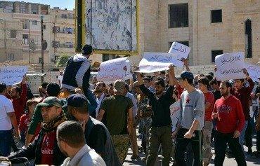 إضراب في إدلب بعد مقتل عدد من الصاغة