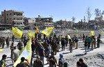 با اعلام پیروزی بزرگ نیروهای دموکراتیک سوریه در الرقه «خلافت» داعش شکست خورده است