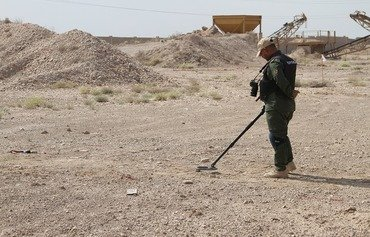 New Iraqi strategy to clear liberated areas of mines