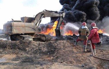 عراق عملیات در میادین نفتی شمال را آغاز می کند