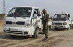 Les Forces de sécurité intérieure prennent en main la sécurité d'al-Raqqa
