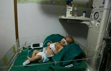 Doctors call for children to be evacuated from Ghouta