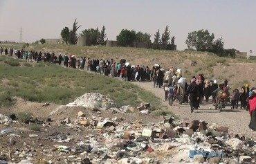 نیروهای دموکراتیک سوریه امنیت مناطق آزاد شده از کنترل داعش را تقویت کردند