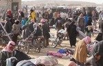 عودة الحياة لسوق بلدة مركدة بعد طرد داعش