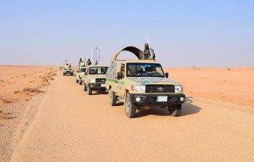 Iraqi forces, SDF secure Iraq-Syria border strip