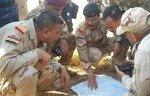 القوات العراقية تطهر مطيبيجة من جيوب داعش