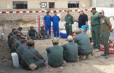 Iraqi agencies join forces to clear ISIS mines