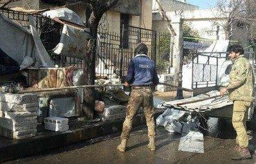هيئة تحرير الشام تعوق الباعة المتجولين في إدلب