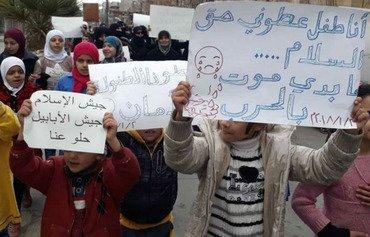 هيئة تحرير الشام تتكبد خسائر في الغوطة الشرقية