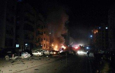 ارتفاع عدد القتلى في الانفجار الذي استهدف قاعدة للمتطرفين في إدلب