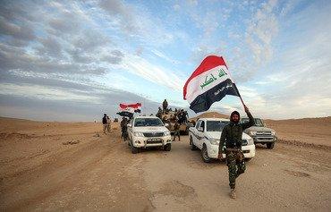 القوات العراقية تتسلم مخافر لتأمين الحدود مع سوريا